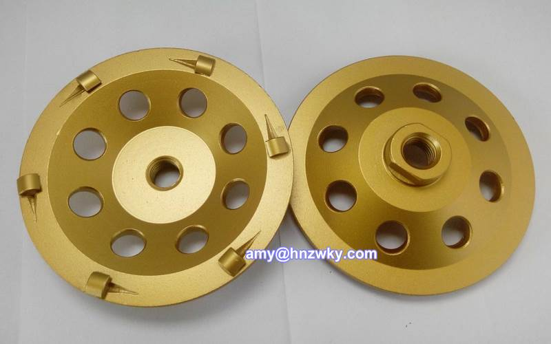china Diamond Cup Grinding Wheel