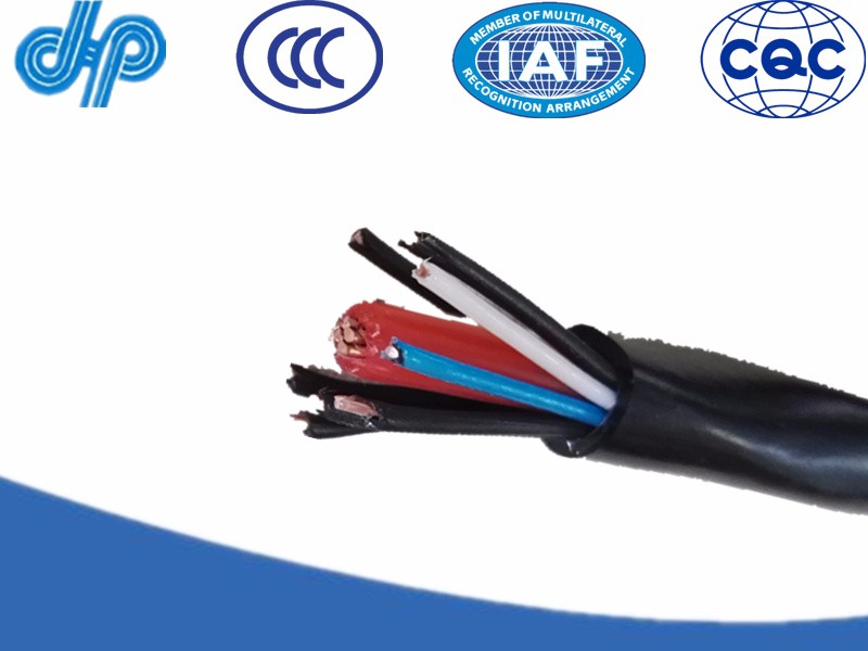 Aerial concentric service cable With Pilot Cable