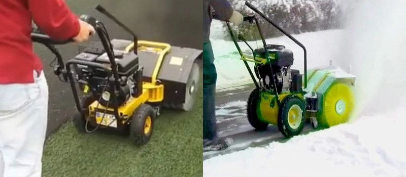 petrol sweeper