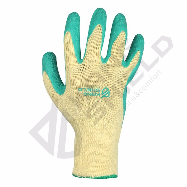 On-line Service Latex coated gloves