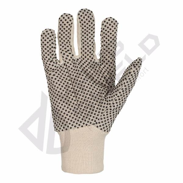 Popular PVC dots gloves