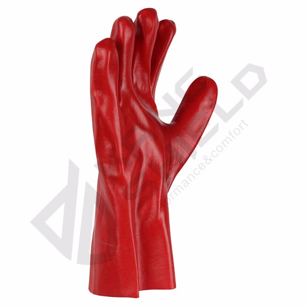 Cheapest Price Red PVC gloves