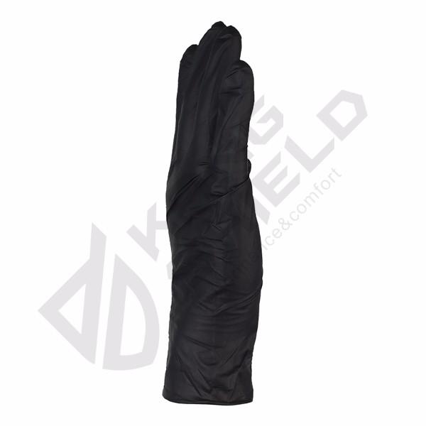 Comfortable Price Nitrile light black gloves