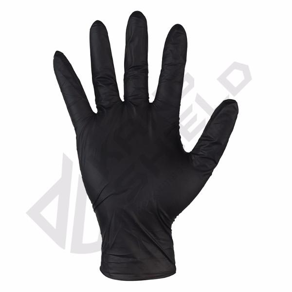 Nitrile light black gloves