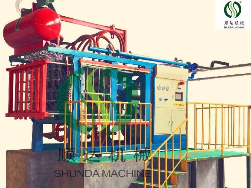 Made in China EPS automatic vacuum shape molding machine