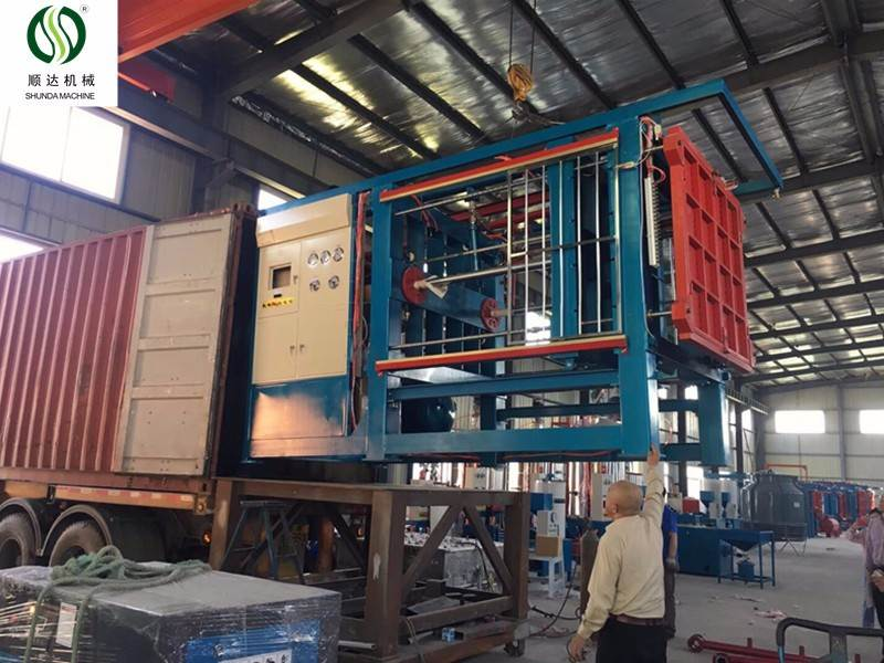 Professional Supplier EPS box making production line