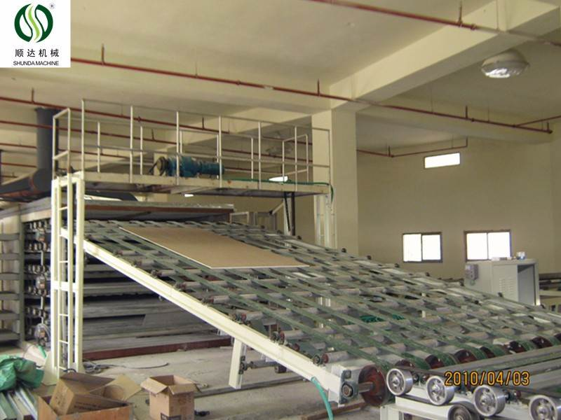 made in china paper faced gypsum board machine