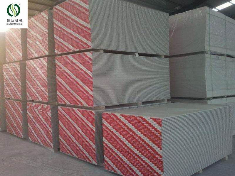 Fine Quality paper faced gypsum board production line