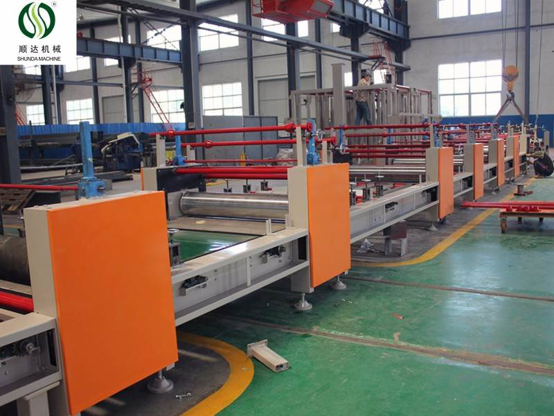 MGO panel making machine