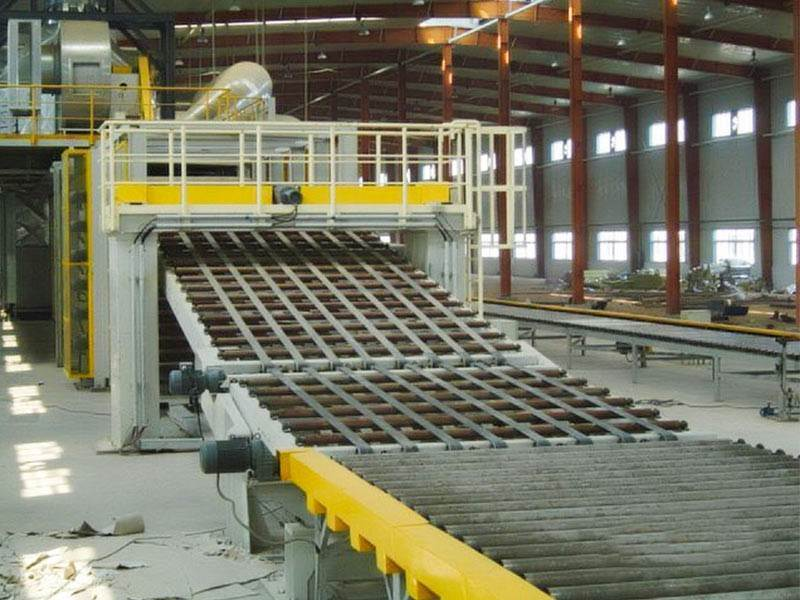 china On-line Service gypsum board production line germany