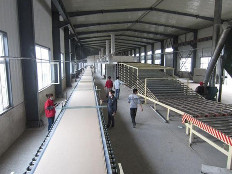 china Best gypsum board making machine