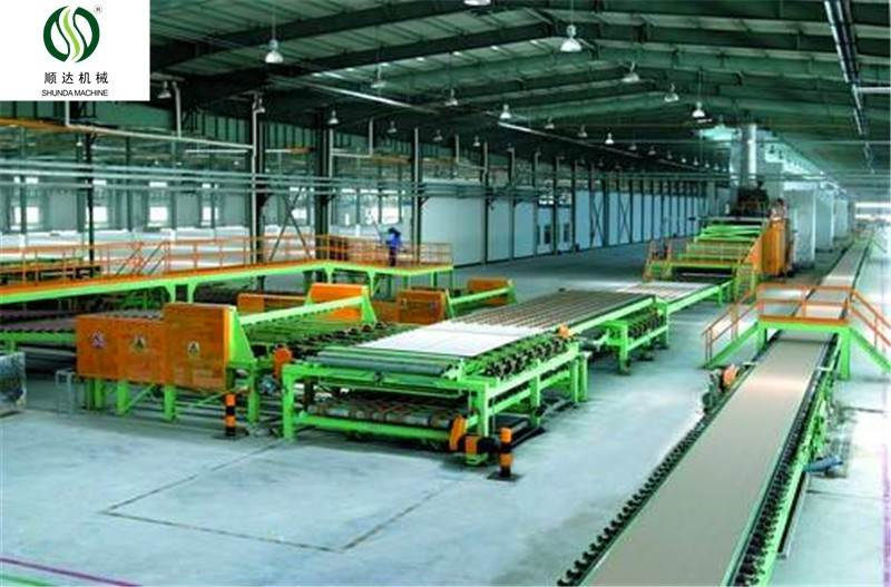 Suitable Price gypsum board machine price