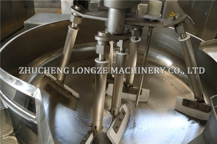 china Automatic Electro Induction Cooking Kettles