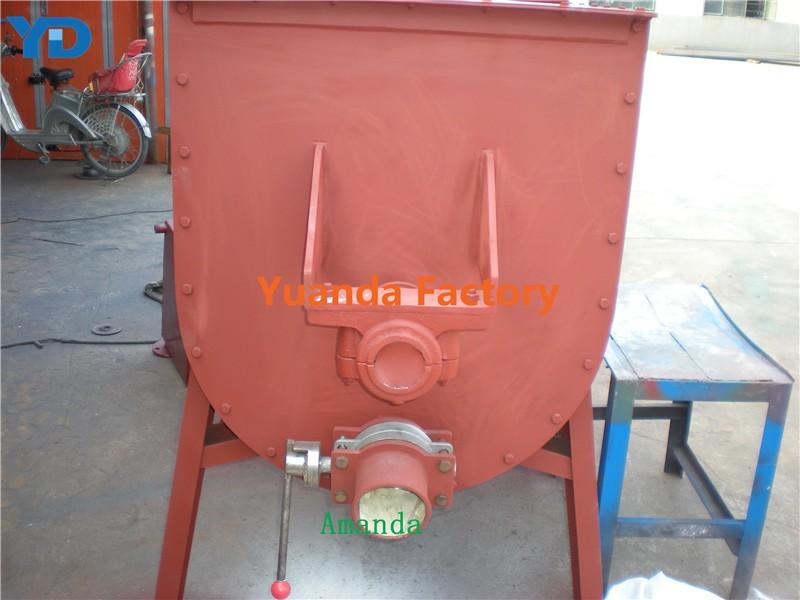 Powder concrete mixing machine