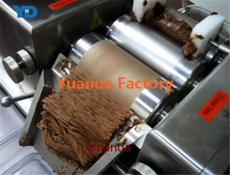 Perfect Quality Chocolate three roller mill machine