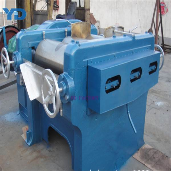 three rolls mill grinding machine