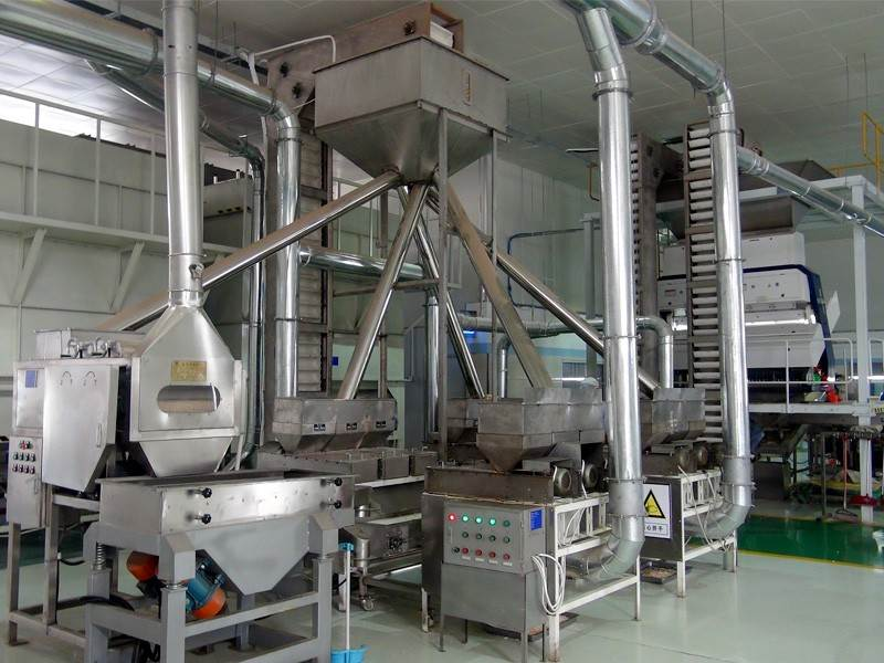blanched peanut production line