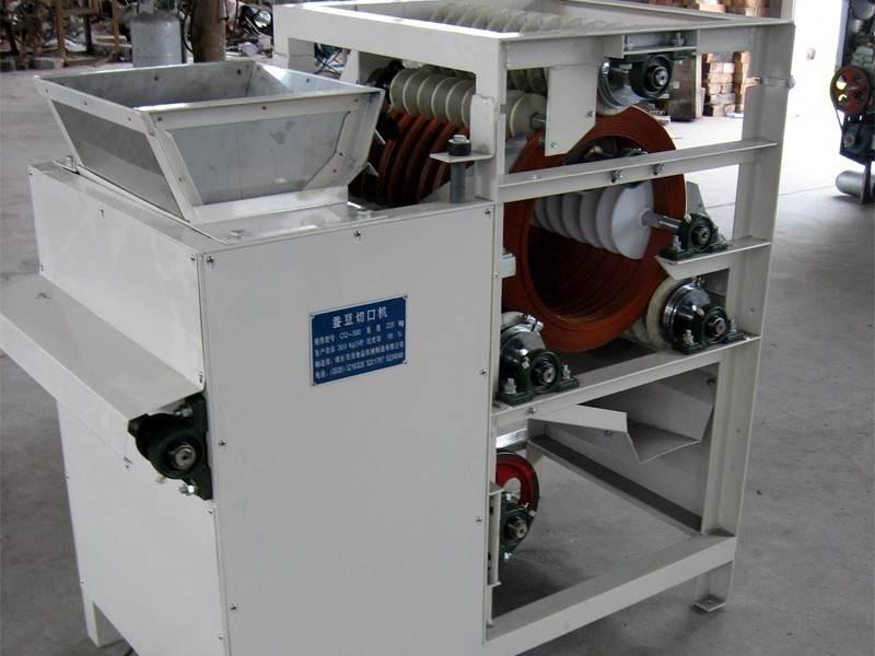 Broad Bean Cutting Machine