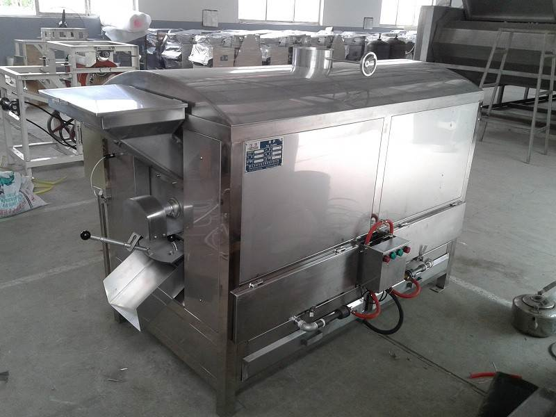 Drum peanut roaster Good Supplier