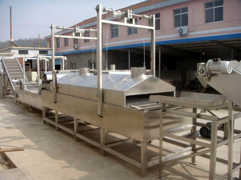 Continuous Frying Peanut Production Line