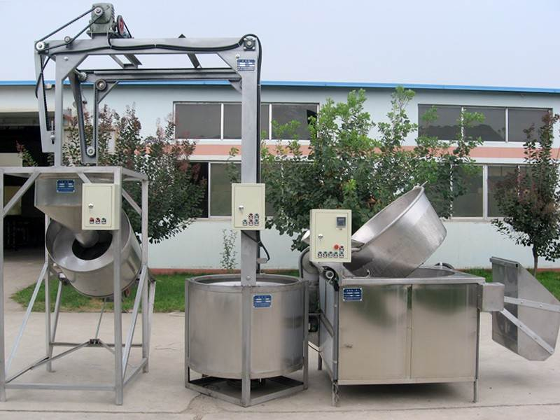 Frying Nut Processing Unit