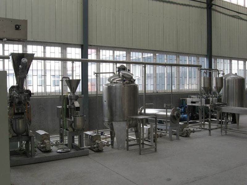 Processing of Peanut Butter Production Line