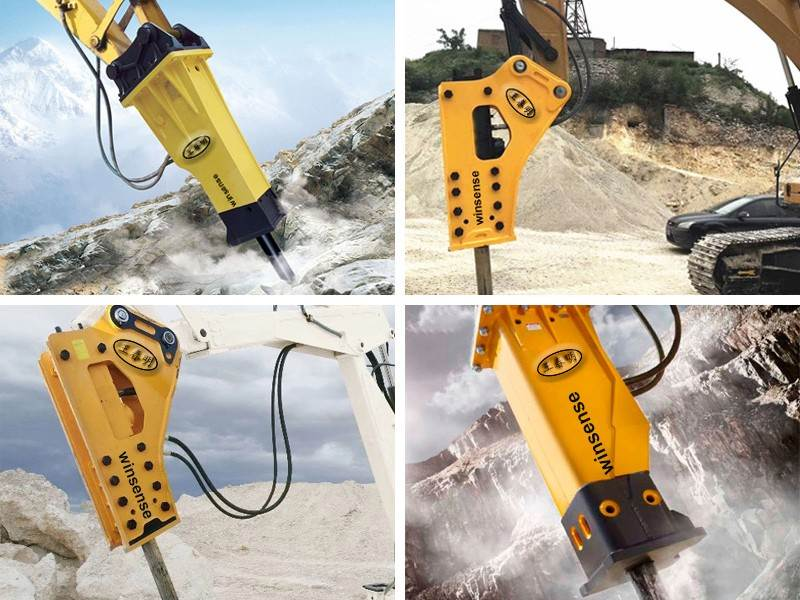 Hydraulic Breakers for Excavators