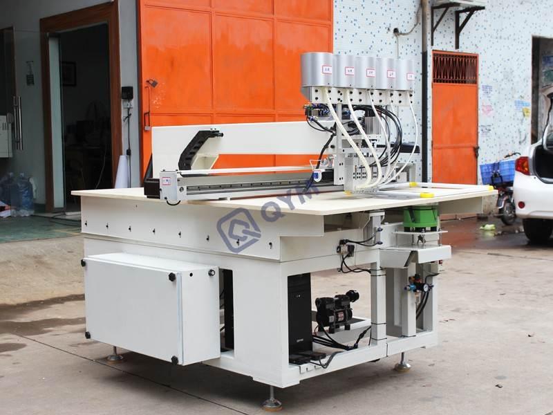 china Computerized pattern pearl setting machine_5 heads