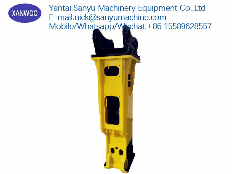 Soosan hydraulic breaker SB43 On-line Service