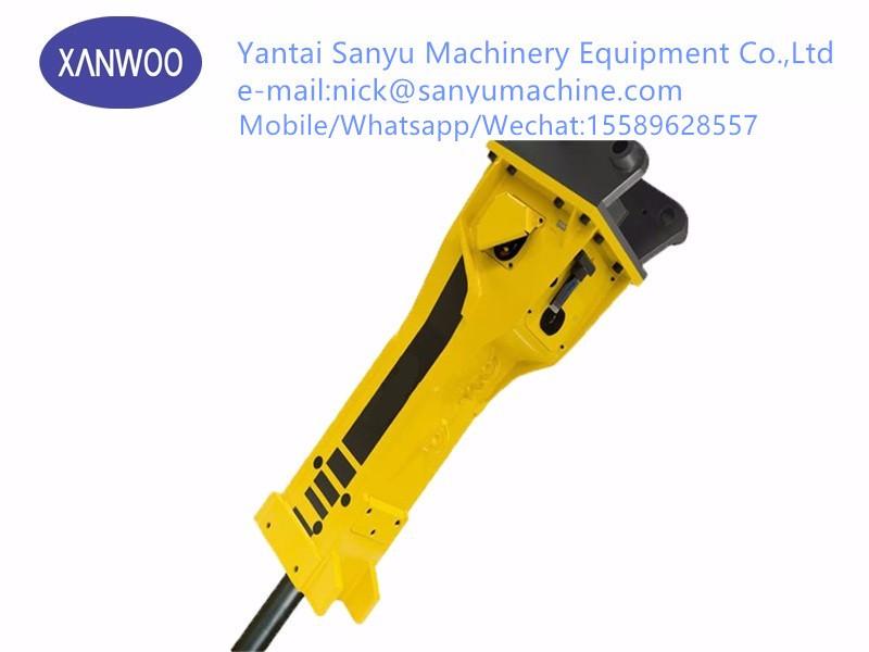 Soosan hydraulic breaker SB43