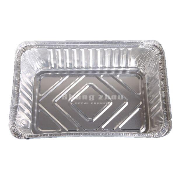 Acceptable Price Disposable Aluminum Foil Pans, Rectangular Aluminum Pans, Foil Pans for Chafing Racks