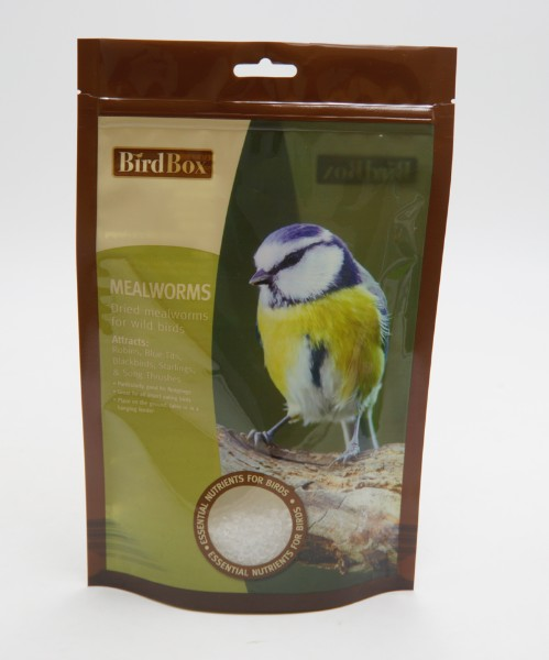 bird snack stand up bag