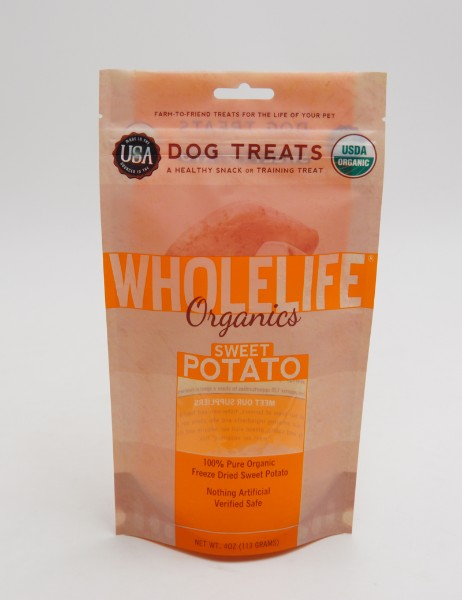 dog treat stand up pouch