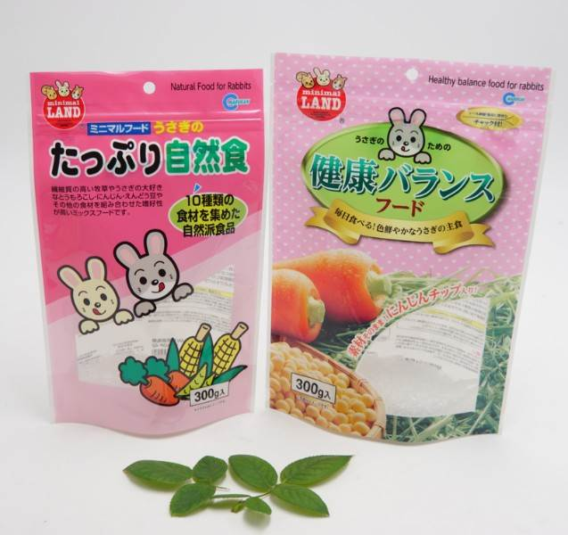 rabbit food stand up bags Wholesale Price
