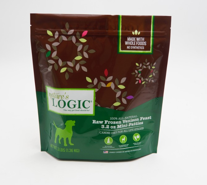 stand up pouch for dog snack