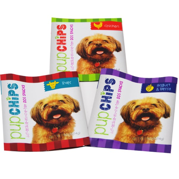 dog snack back seal bags
