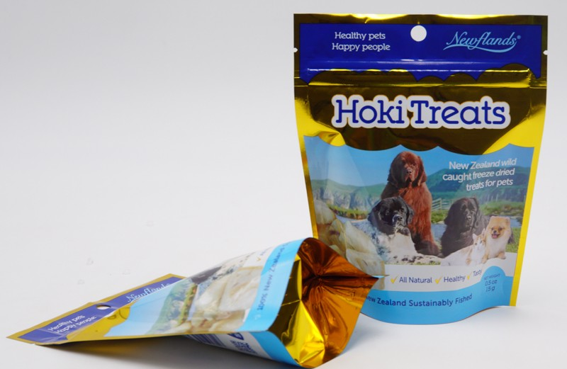 dog treat packaging bag