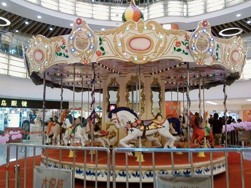 Factory Produced Carousel