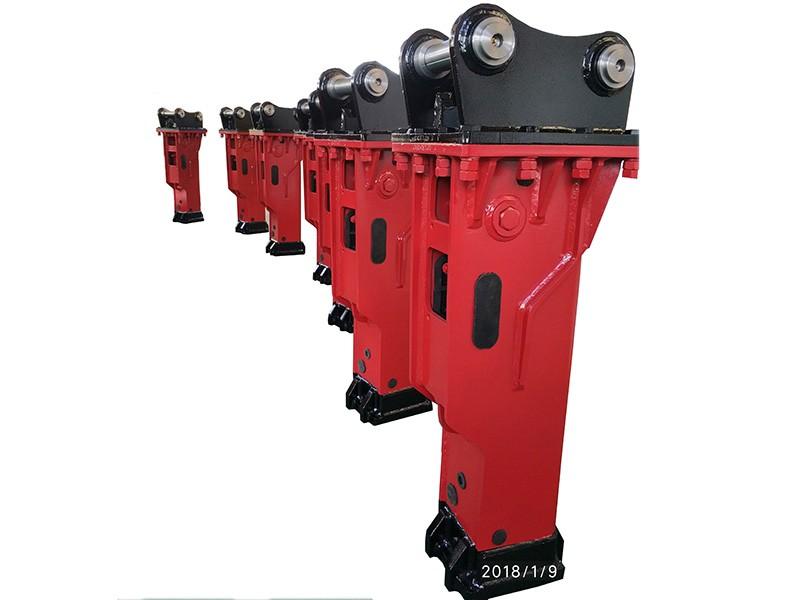 Professional Manufacturer hydraulic rock breaker