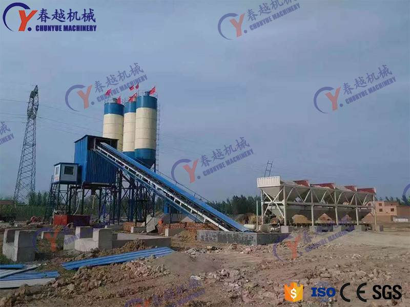 china China supplier concrete mixing plant for sale