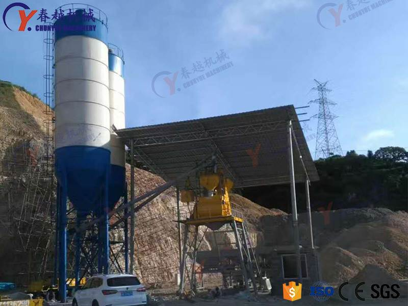 How to Save Water for Concrete in Mixing Station