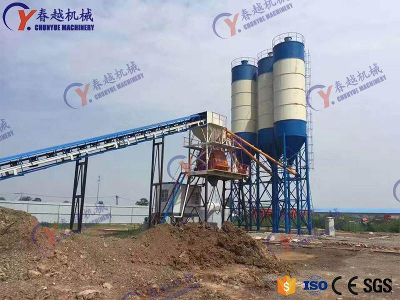made in china concrete mixing plant in Viet Nam