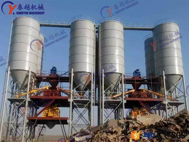 made in china concrete mixing plant in Kazakhstan
