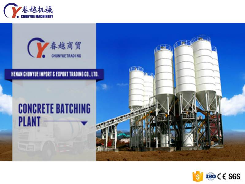 china mobile concrete batching plant hot selling