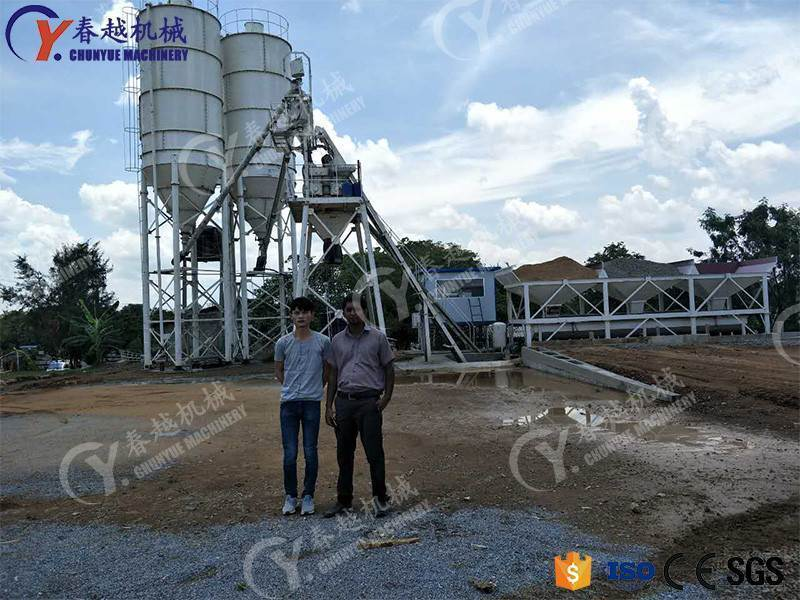 made in china china exporter concrete mixing plant manufacturer