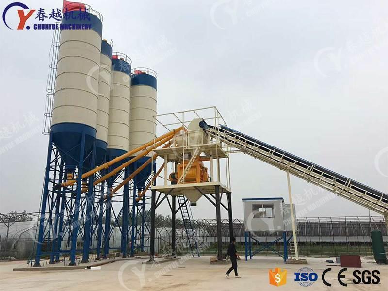 concrete mixing plant price