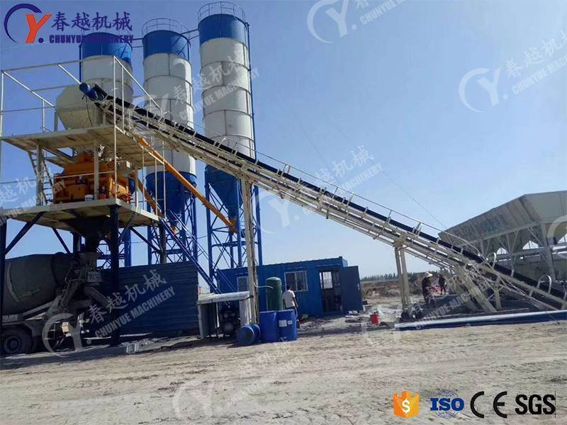 made in china best price concrete mixing plant capacity