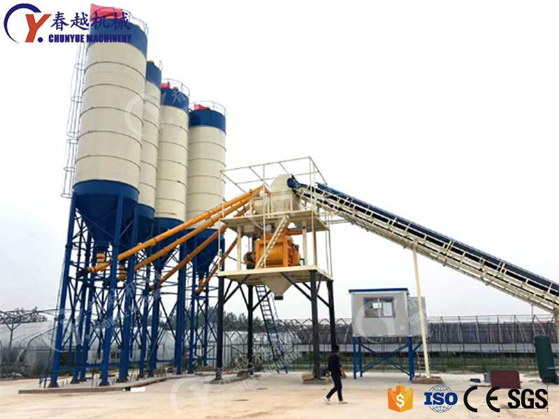 made in china high quality concrete mixing plant factory