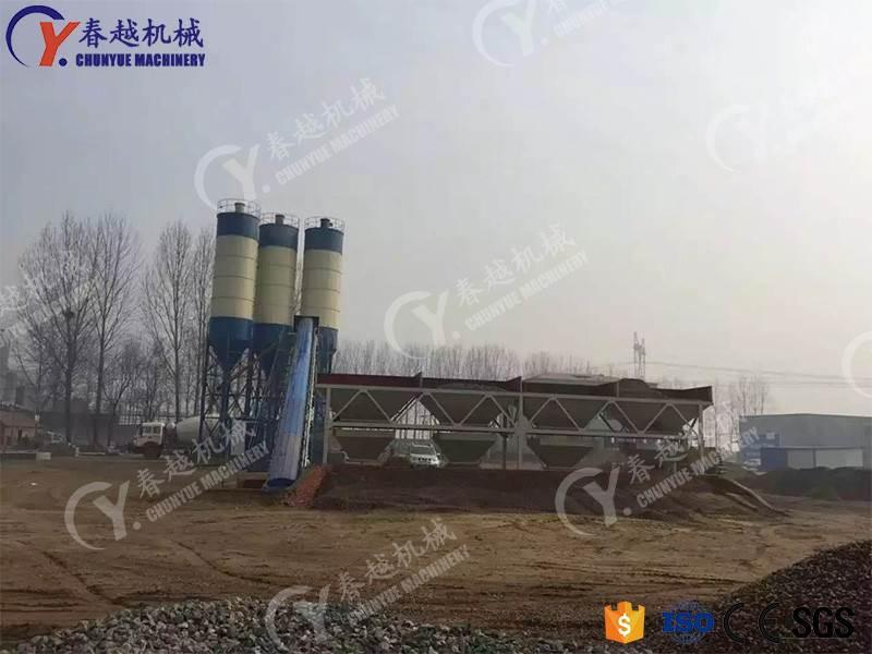 low cost concrete mixing plant exporter