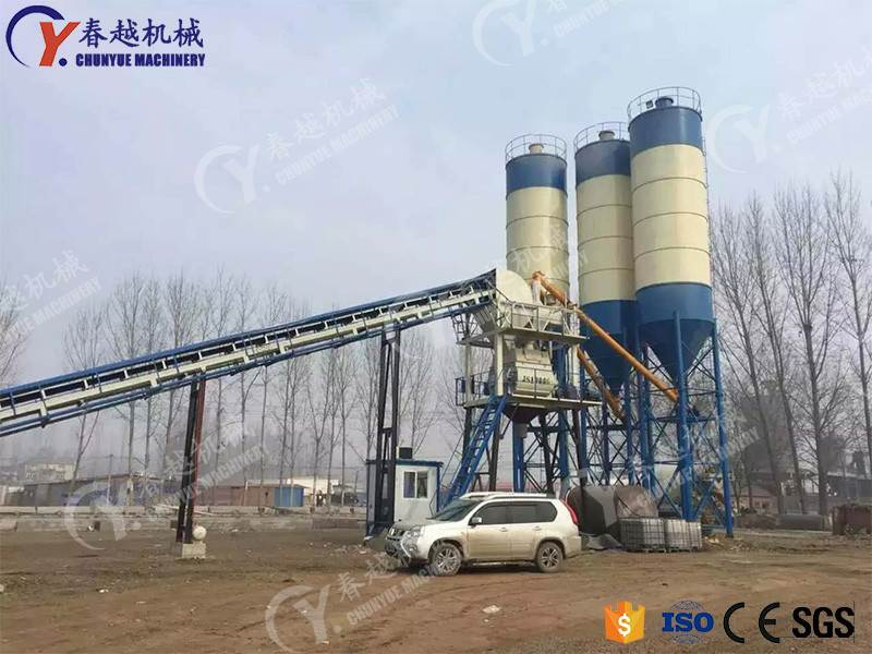 made in china high quality concrete mixing plant operator
